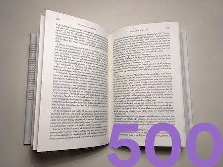Lektörstjänst 500 sid.