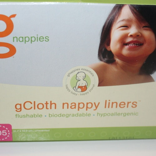 gDiapers papperinlägg i box