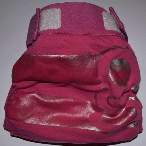 gDiapers M Rosa/Silver