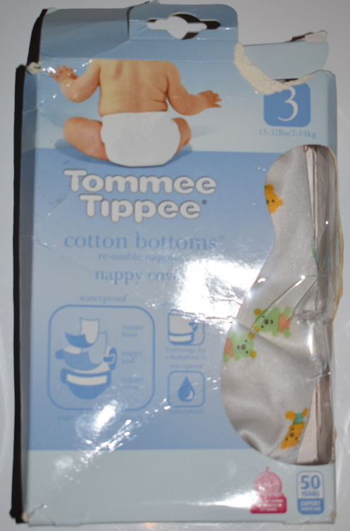 "Tommee Tippee ""Cotton Bottom"" Skal Storlek 3"