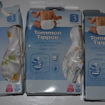 "Tommee Tippee ""Cotton Bottom"" Skal Storlek 3"