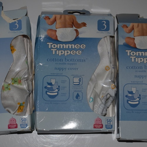 "Tommee Tippee ""Cotton Bottom"" Skal Storlek Medium/3"