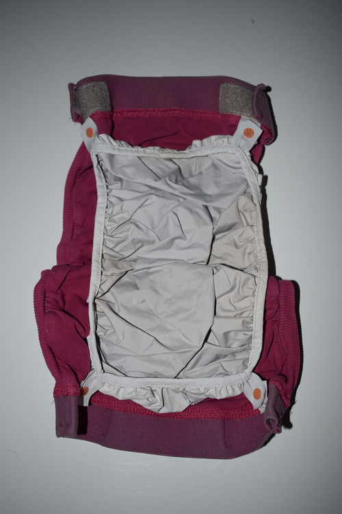 gDiapers ROSA/Randig Large inkl. pouch (012)