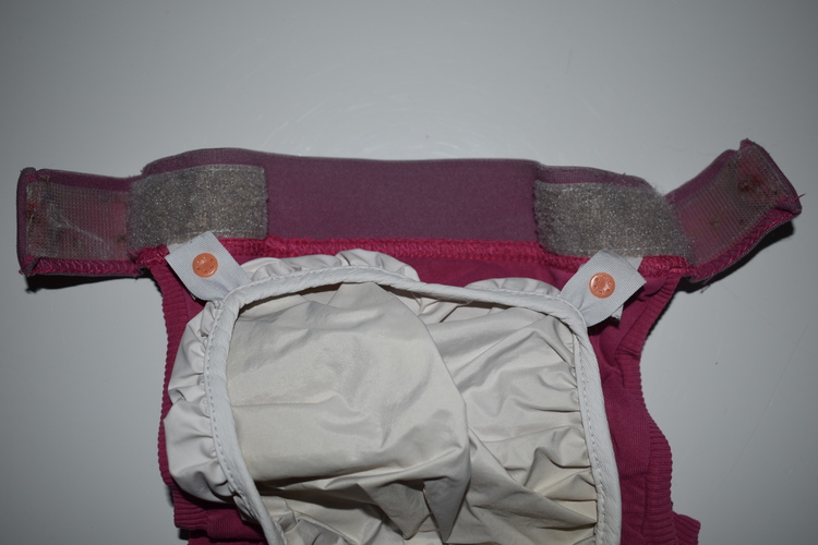 gDiapers ROSA/Randig Large inkl. pouch