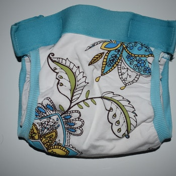 gDiapers Girly twirly Medium inkl. pouch