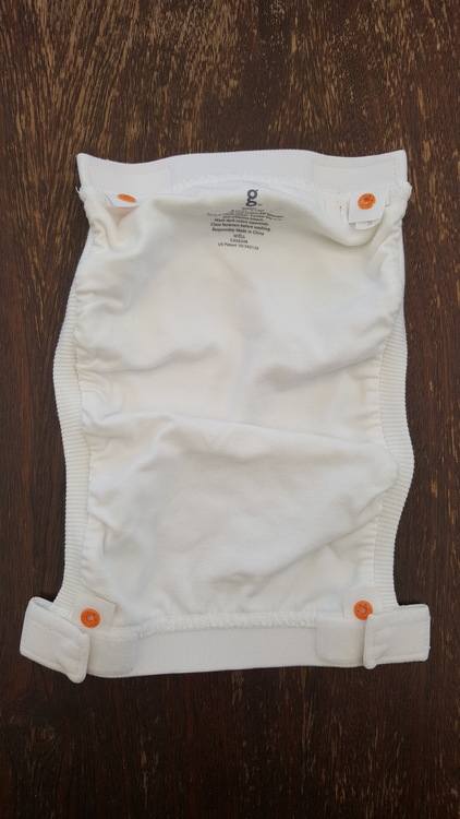 """gDiapers blöjbyxa """"Made with love"""" inkl. pouch. Small (012)"""