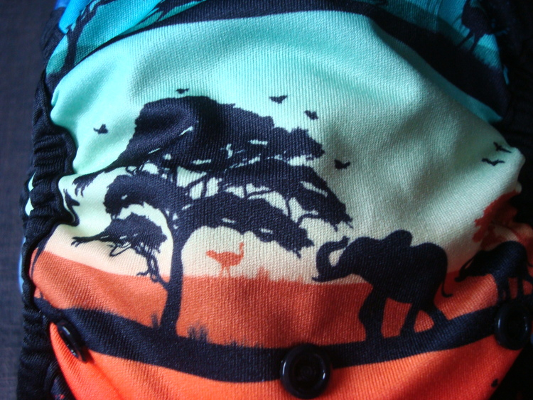 "Nickis diapers skal ""safari"" (049)"