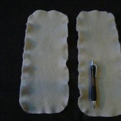 Stretchiga ullinlägg utan märke (049)