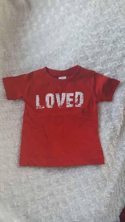 gDiapers t-shirt Loved (063)