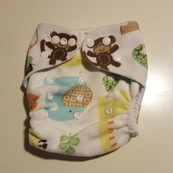 Little bloom pocket i Minky (061)