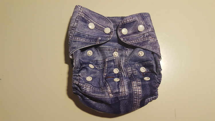 Pocketblöja i jeansutförande (061)