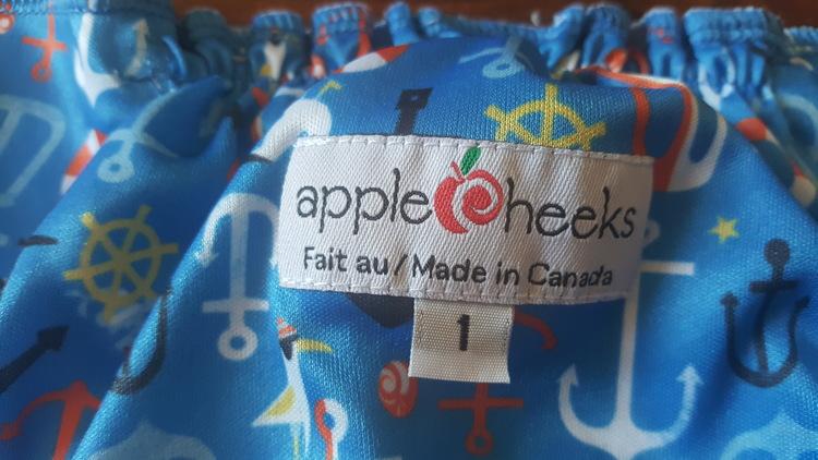 Apple cheeks PUL-skal (054)