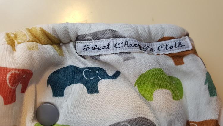 Sweet Cherry Pie Cloth Formsydd blöja (080)