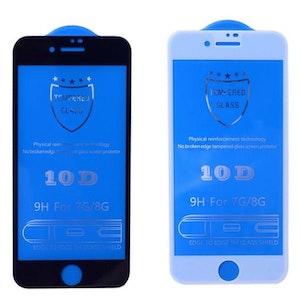 10D komplett skärmskydd för iPhone iPhone 8 plus