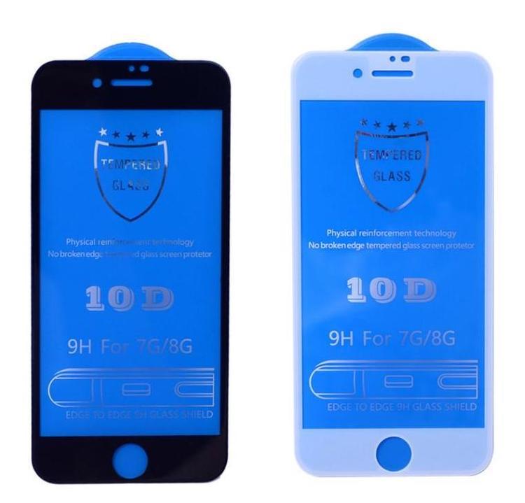 10D komplett skärmskydd för iPhone iPhone 7 plus