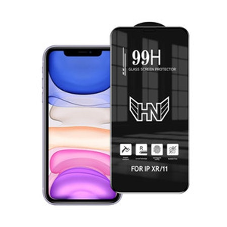 99H komplett skärmskydd för iPhone XR