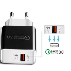 QC 3.0 Fast Wall Charger for Samsung Huawei Phone