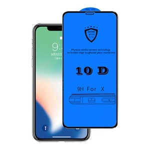 10D Tempered Glass for iPhone X