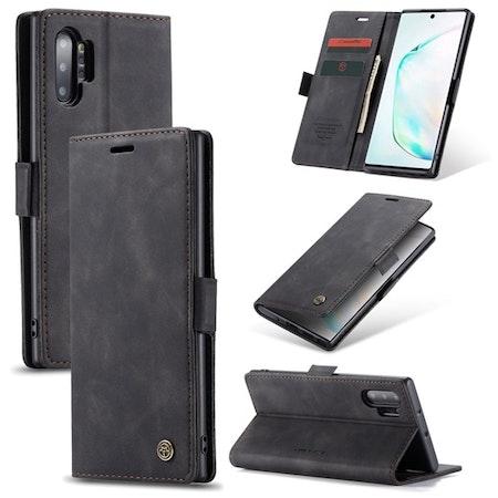 Caseme Plånboksfodral Galaxy Note 10 svart
