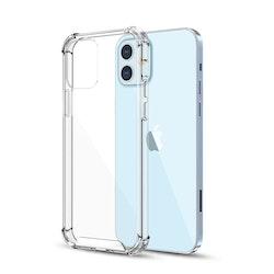 IPhone 12  - Shockproof TPU Skal - Transparent