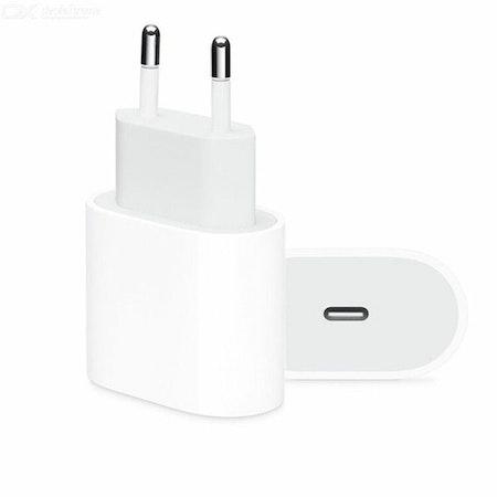 20W PD-laddare USB QC3.0 typ c snabbadapter för iPhone 12/12 Pro
