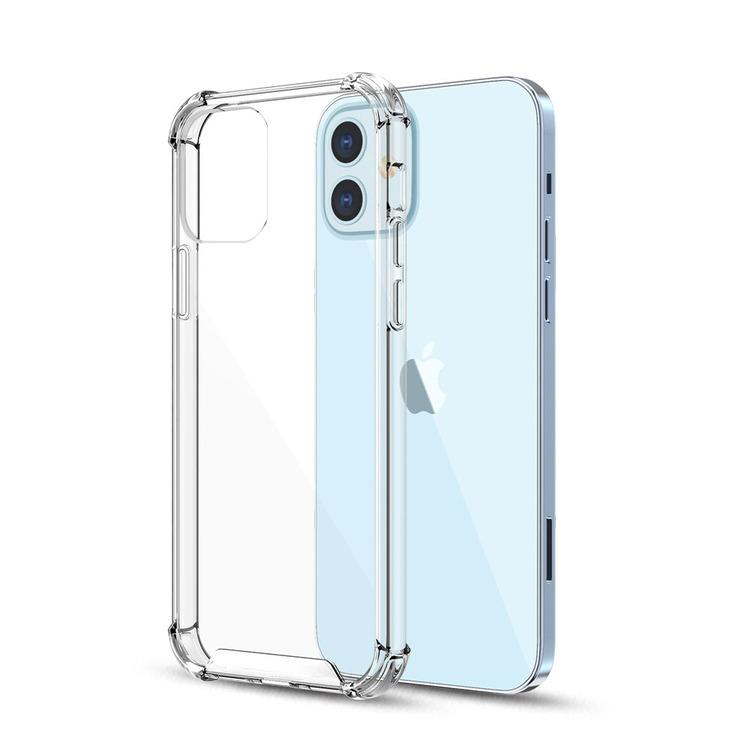 Shockproof TPU Skal - Transparent för iphone 100pcs