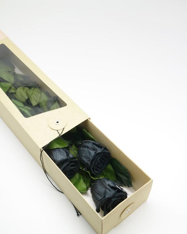 Evighetsros Giftbox  - Svart
