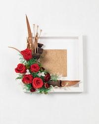 Blomram - Röd