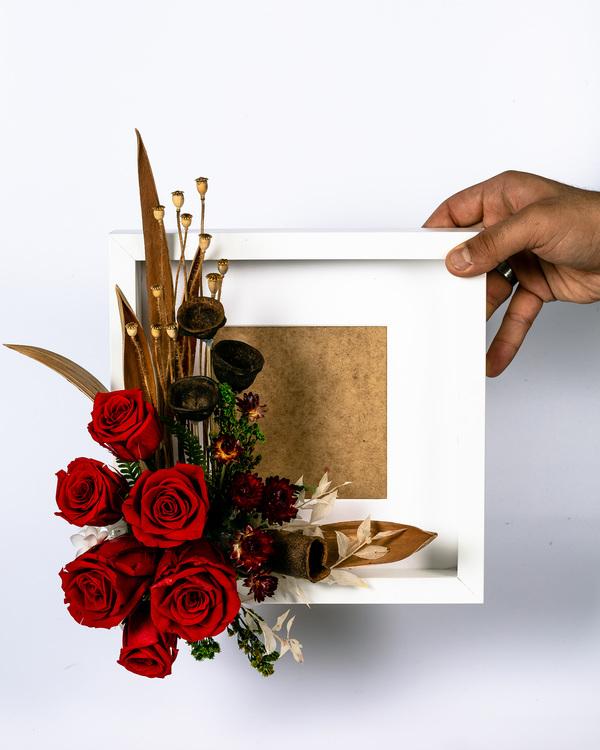 Blomram - Lyxigt present