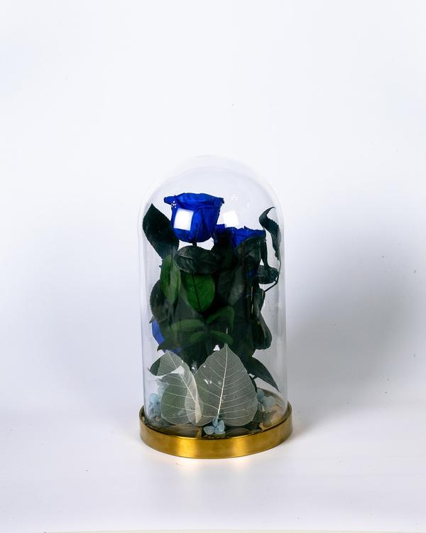 Roskupa Stor - Mörkblå - Present