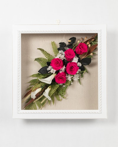 Blomram - Rosa