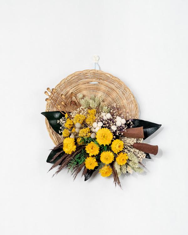 Hängbar Blomplatta