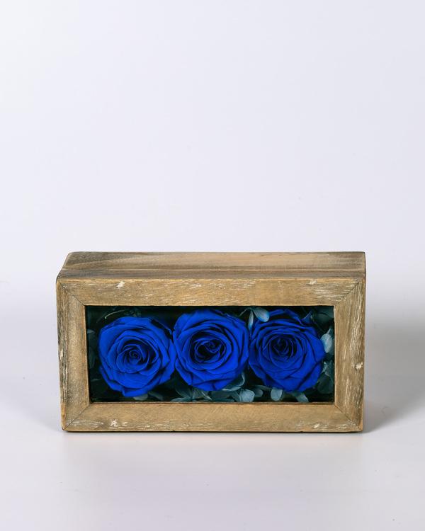 Mini Rosbox - Mörkblå