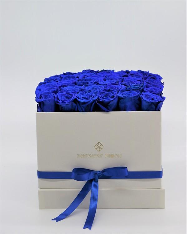 Rosbox Large - Mörkblå