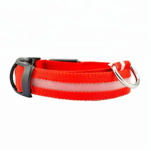 Lysande hundhalsband