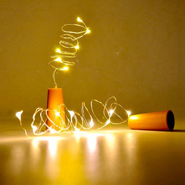 Ljusslinga för flaska LED