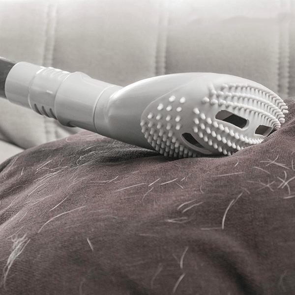 Dammsugarmunstycke för hårborttagning