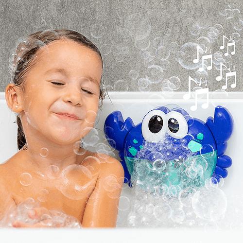 Badleksak med automatiska bubblor