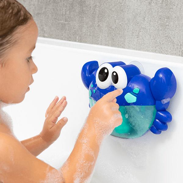 Badleksak med automatiska bubblor och melodier