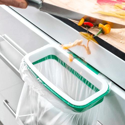 Sopbehållare för köksbänken