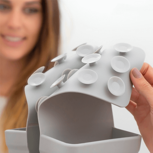Organizer silikon med sugpropp