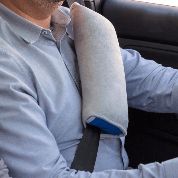 Kudde för bilbälte