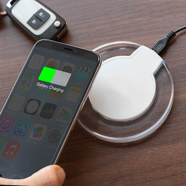 Trådlös laddare till smartphone