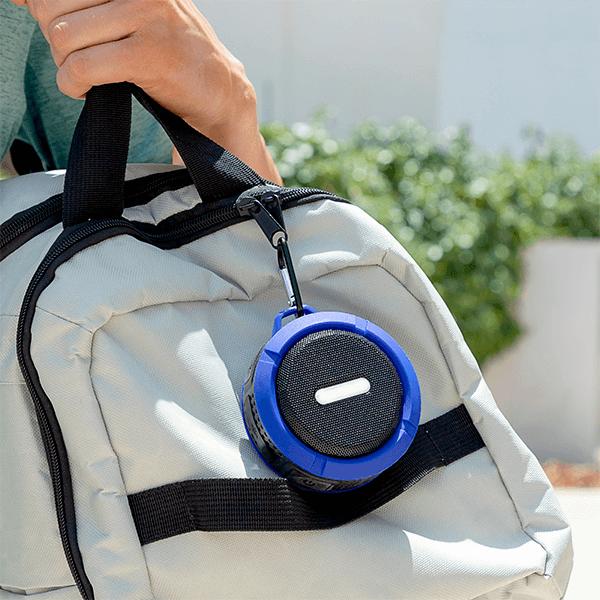 DropSound vattentät trådlös bärbar Bluetooth högtalare