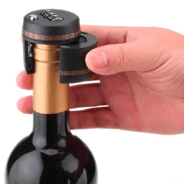 Flasklås - lås för flaskor