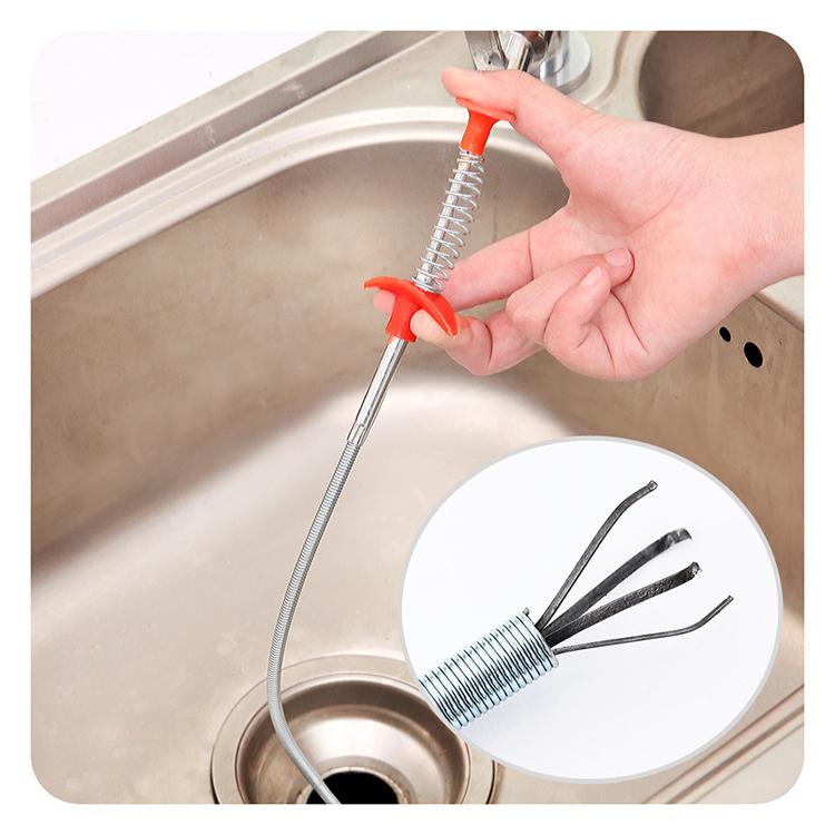Avloppsrensare och multiverktyg för hemmet och badrummet