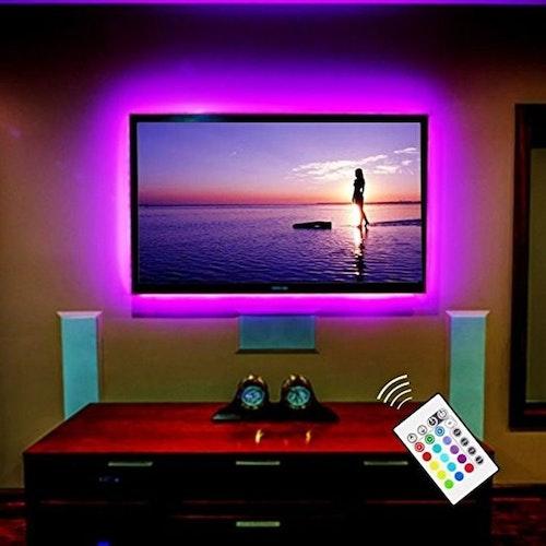 Ljusslinga för din tv