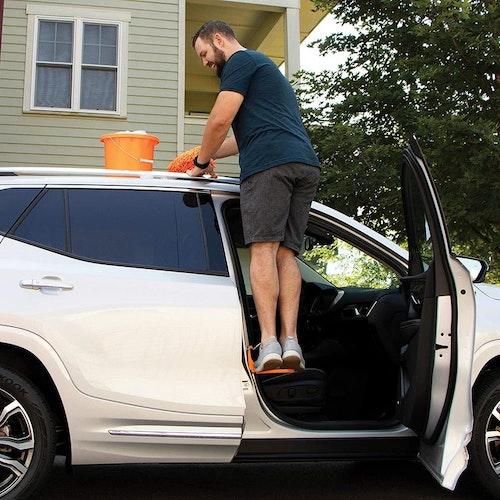 Smart fotsteg till bilen
