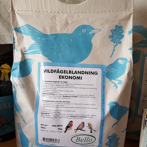 Vildfågelblandning Ekonomi 5 kg
