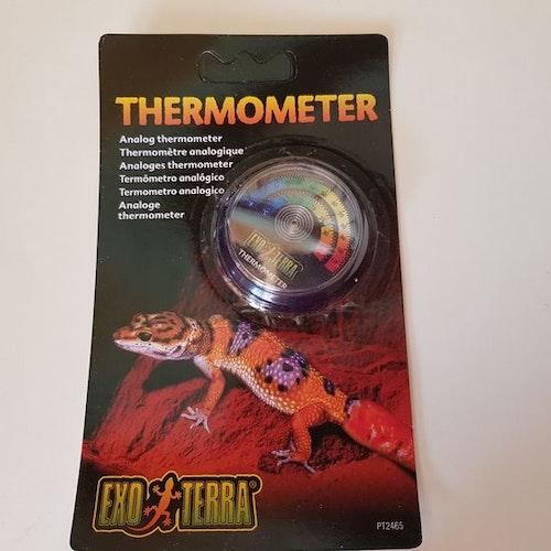 Termometer, rund Exoterra